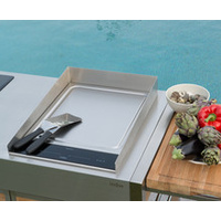 indu+ Anti-Splash Board 380 Teppanyaki induction