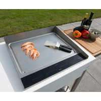 indu+ Anti-Splash Board 580 Teppanyaki induction