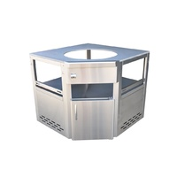 "Outdoor Kitchen Kamado Joe 18"" Corner unit"