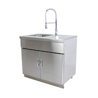 Outdoor Kitchen Sink Unit