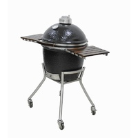 Grandfire Kamado on SS Cart