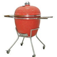 "Grandfire Kamado 29"" on SS cart"