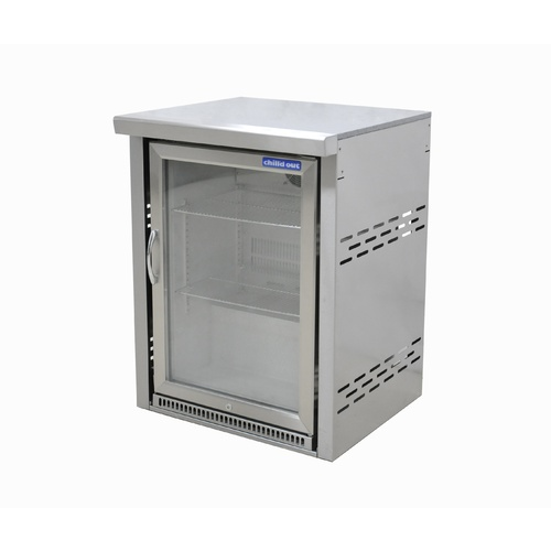Single Door Alfresco Fridge with module