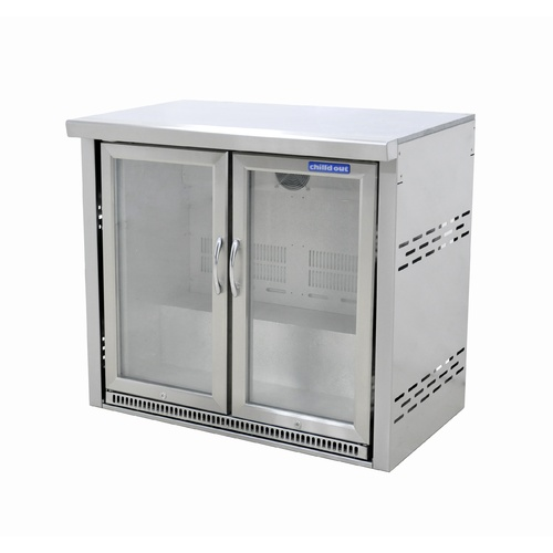 Double Door Alfresco Fridge with module