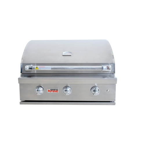 "Grandfire Silverline 32"" Build-In BBQ"