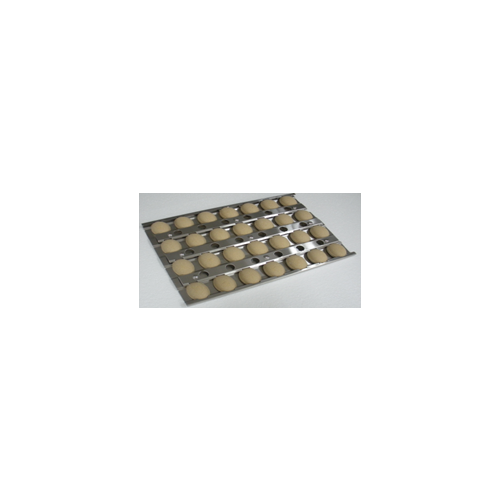Tray with ceramic briquettes for Deluxe 42""
