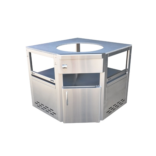 "Outdoor Kitchen Kamado 18"" Corner unit"