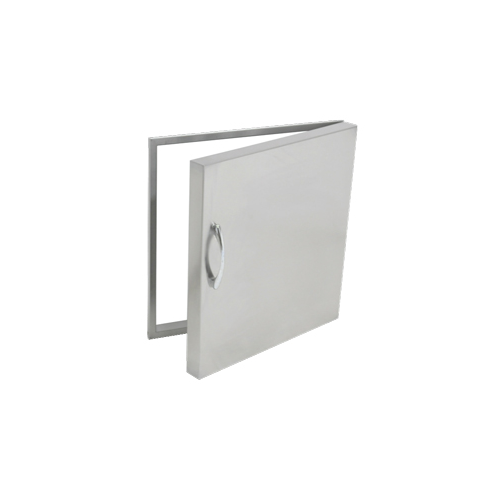 Stainless Steel single vertical door